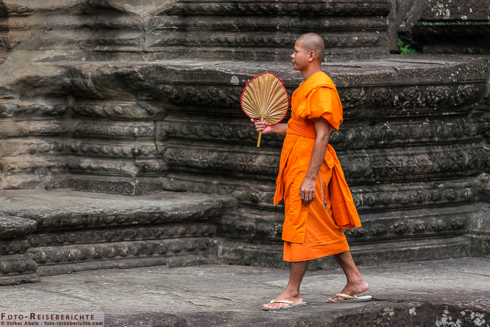 Photo of Mönch in Angkor Wat