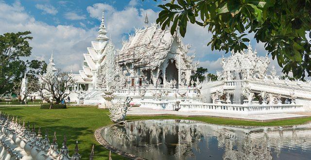 Wat Rong Khun - der Weiße Tempel von Chiang Rai © Volker Abels - www.foto-reiseberichte.com