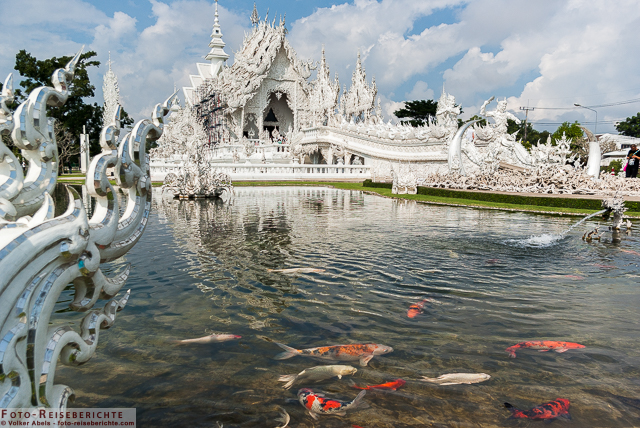 WeißerTempel Chiang Rai-Thailand © Volker Abels - www.foto-reiseberichte.com