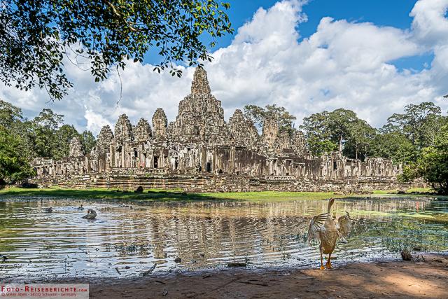 Temepelanlage Angkor Wat - © Volker Abels - foto-reiseberichte.com