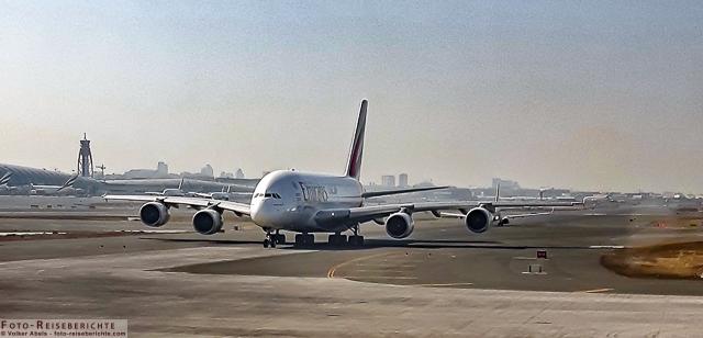 Flugzeug zur Flugverfolgung www.foto-reiseberichte.com