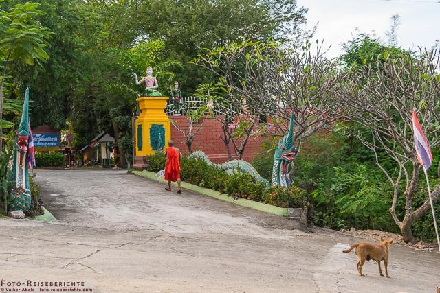 Eingangsbereich - Wat Mok Khan Lan - Suttichit Buddha Park © Volker Abels - www.foto-reiseberichte.com