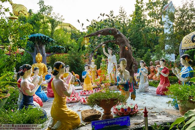 Figurendarstellung aus einer Erzählung im Suttichit Buddha Park © Volker Abels - www.foto-reiseberichte.com