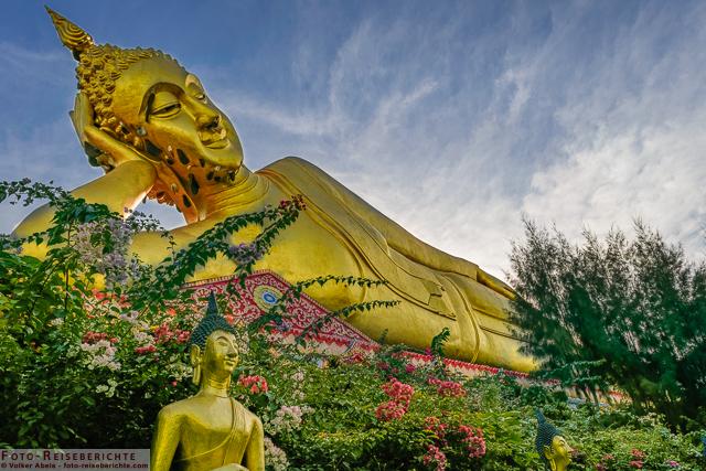 Liegender Buddha - Wat Mok Khan Lan - Suttichit Buddha Park © Volker Abels