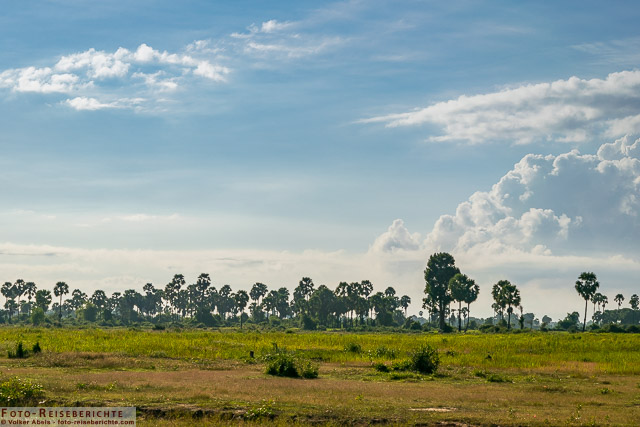 Ländliche Region außerhalb von Siem Reap © Volker Abels - www.foto-reiseberichte.com