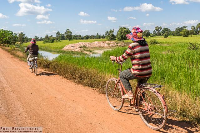 Mit dem Fahrrad unterwegs © Volker Abels - www.foto-reiseberichte.com
