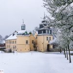 Schloß Martfeld im Schnee