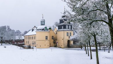 Photo of Schloß Martfeld im Schnee
