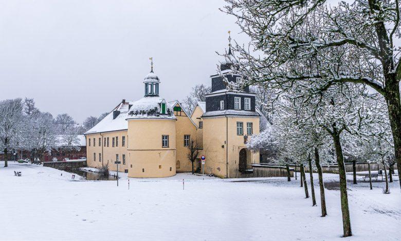 Photo of Schloß Martfeld im Schnee