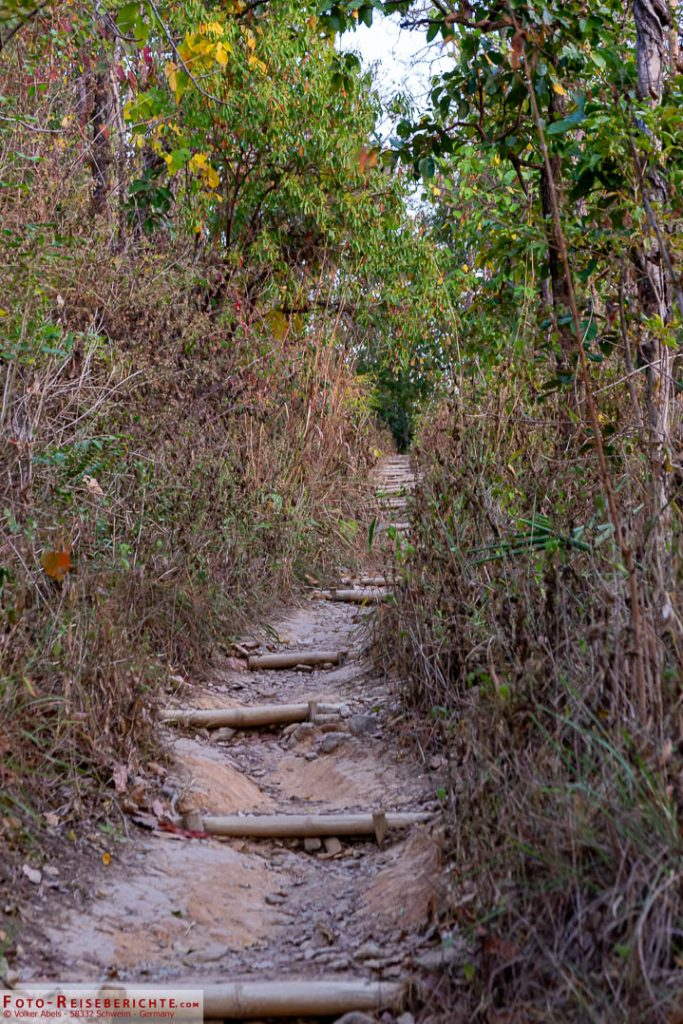 Monks Trail - Pfad auf den Doi Suthep